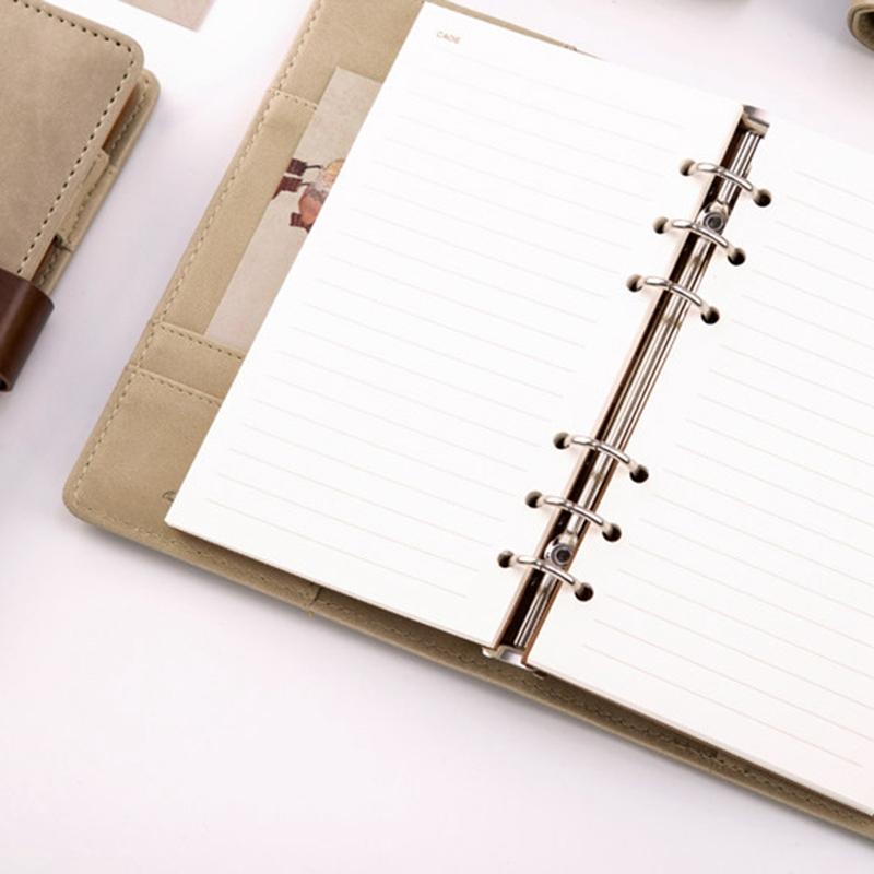 Nuevo-1Pc-Cute-Animal-Vintage-Cuaderno-Espiral-A6-Agenda-Creativa-Viajes-Diario miniatura 18
