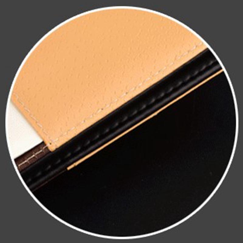Cuaderno-de-cuero-grueso-vintage-Hebilla-Planificador-de-bloc-de-notas-para-nego miniatura 6