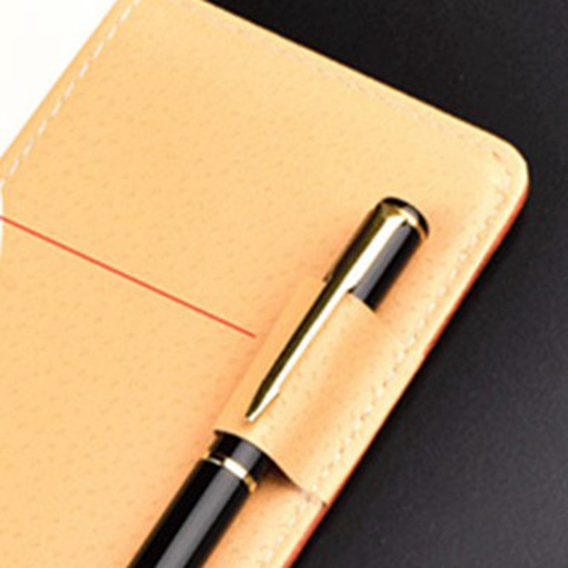 Cuaderno-de-cuero-grueso-vintage-Hebilla-Planificador-de-bloc-de-notas-para-nego miniatura 19