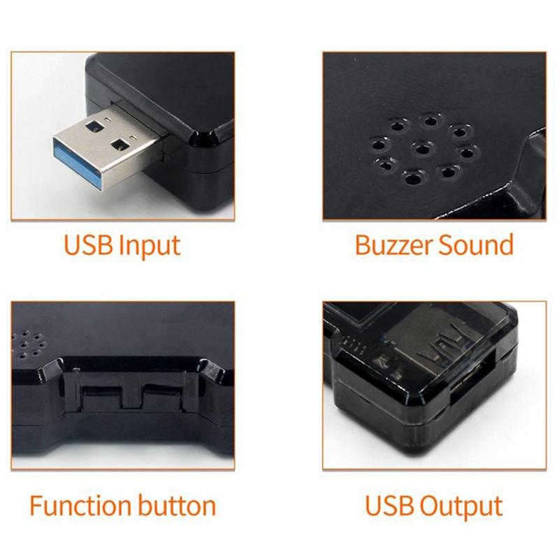 FNB18-USB-Tester-DC-Digital-Voltmeter-Ampermetro-Current-Voltage-Meter-Amp-U1O6 thumbnail 5