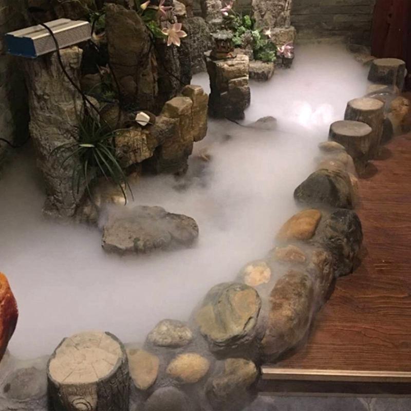 Nebler Ultraschall Vernebler Luftbefeuchter Nebel für Zimmerbrunnen Kunststoff