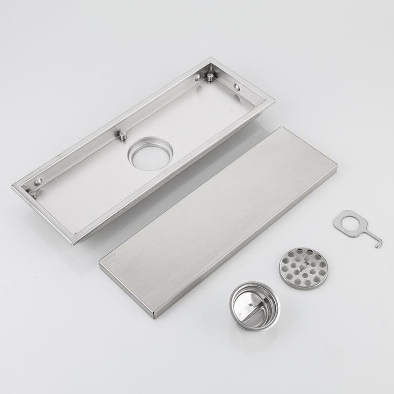 DesaguEs-de-Piso-Ducha-Lineal-de-Acero-Inoxidable-DesaguEs-de-Piso-E1L6 miniatura 7