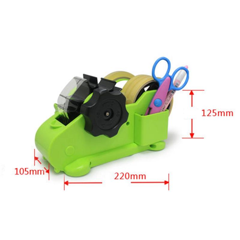 Multi-Purpose-Automatic-Desk-Tape-Dispenser-Cutter-Perfect-for-Office-Home-C8J7 thumbnail 3