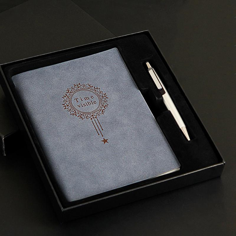 A5-Nombre-Del-Cuaderno-Almohadillas-de-Cuero-para-Escribir-Carpeta-Diario-Oficin miniatura 3