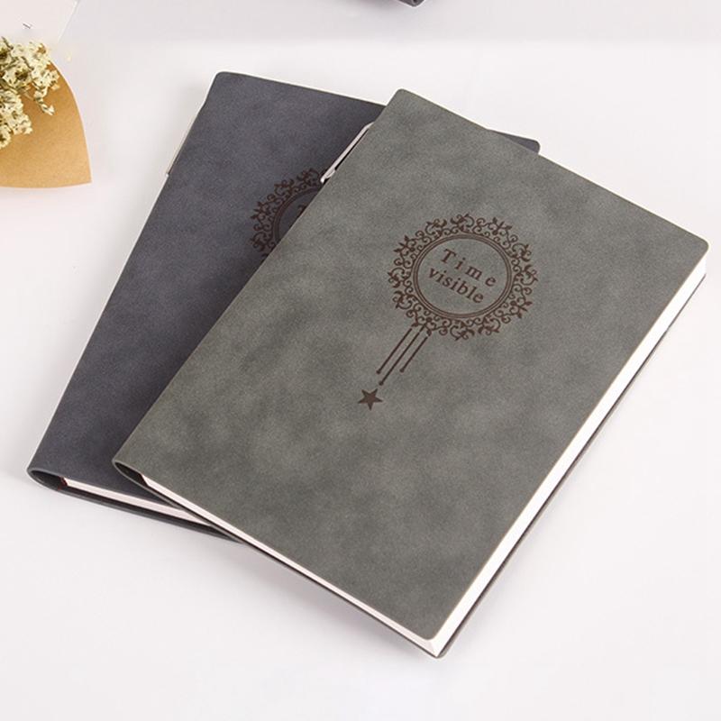 A5-Nombre-Del-Cuaderno-Almohadillas-de-Cuero-para-Escribir-Carpeta-Diario-Oficin miniatura 6