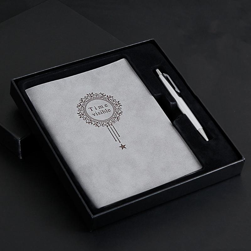 A5-Nombre-Del-Cuaderno-Almohadillas-de-Cuero-para-Escribir-Carpeta-Diario-Oficin miniatura 20