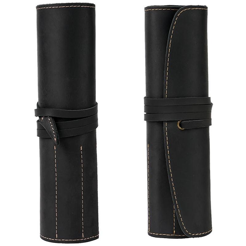 Estuche-de-LaPices-de-Cuero-Porta-LaPices-Bolso-Fijo-de-Cuero-Adecuado-para-G8V6 miniatura 9