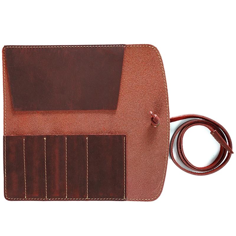Estuche-de-LaPices-de-Cuero-Porta-LaPices-Bolso-Fijo-de-Cuero-Adecuado-para-G8V6 miniatura 14