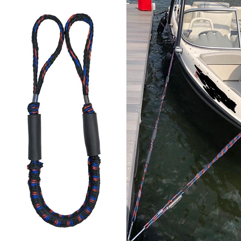 2-Unids-ElaStica-Muelle-Cuerda-Bote-Marina-Del-Barco-de-LiNea-Del-Dock-Bung-M5X2 miniatura 6