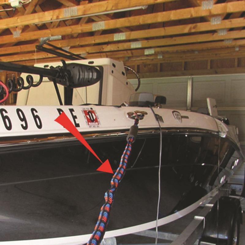 2-Unids-ElaStica-Muelle-Cuerda-Bote-Marina-Del-Barco-de-LiNea-Del-Dock-Bung-M5X2 miniatura 9
