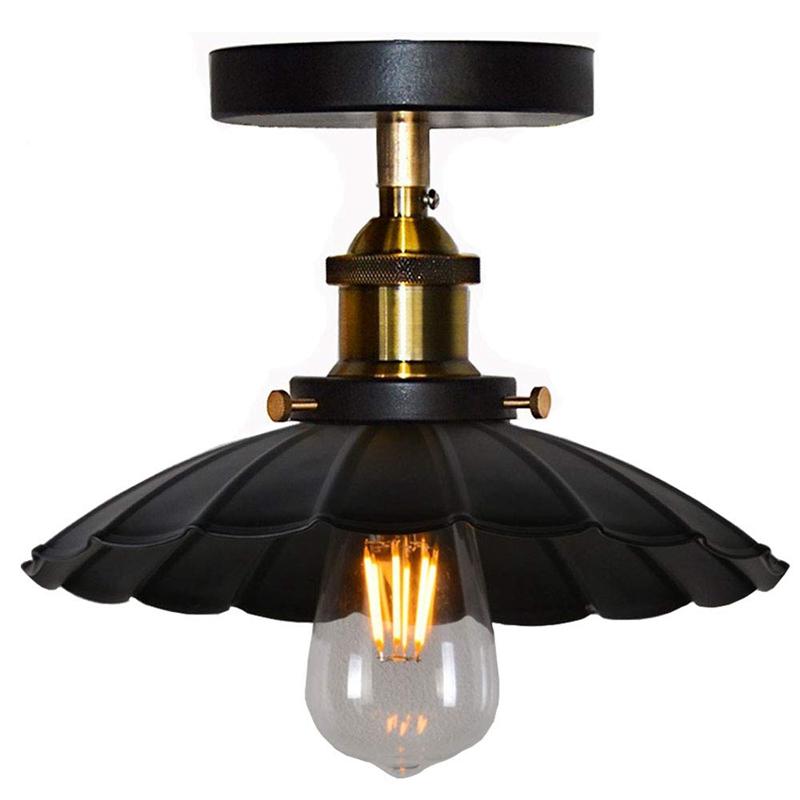 Plafonnier Design Industriel Suspension Vintage Luminaire