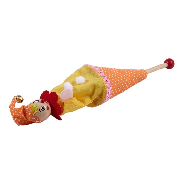 2X-Cache-Cache-Clown-Visage-Souriant-Enfants-Jouet-avec-Sonnette-L2X1 miniature 7