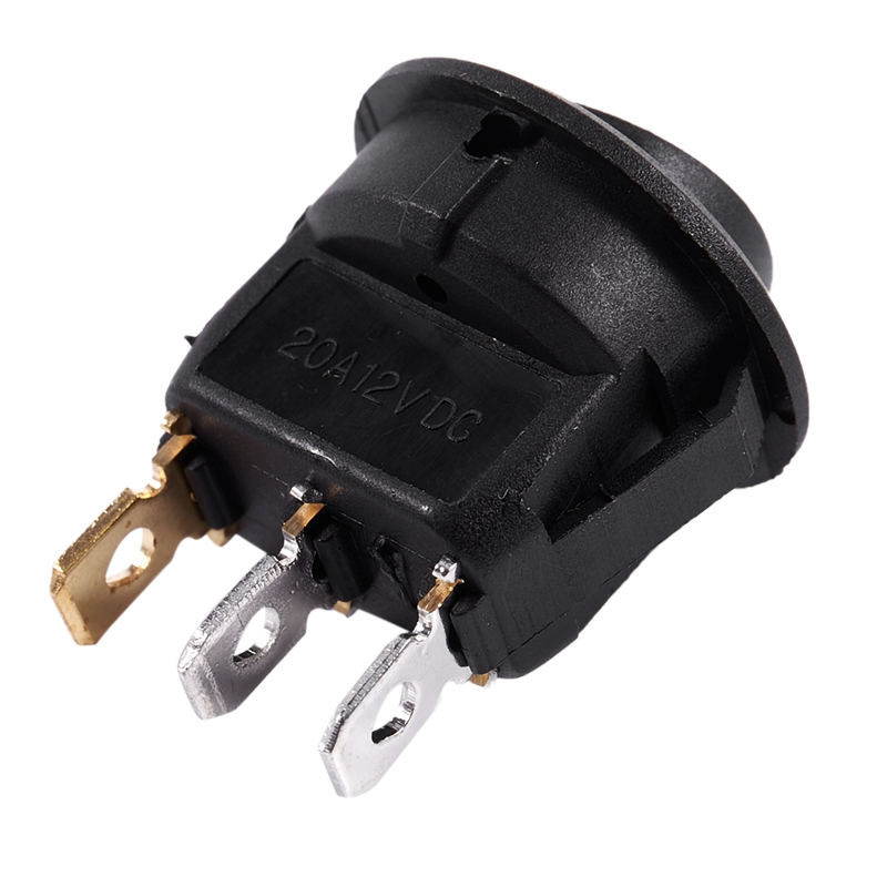 thumbnail 18 - 12V-LED-Inverter-Rocking-Rocker-Switch-ROUND-SPST-ON-OFF-for-BOAT-Car-Q4I3