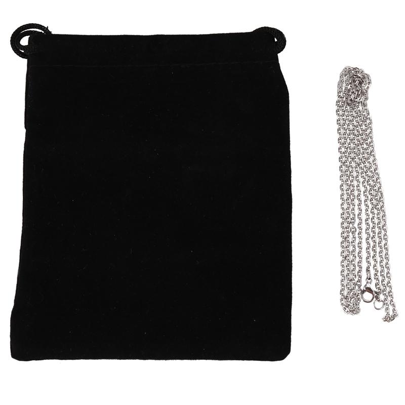 """Indexbild 28 - Schmuck Damen Kette,Edelstahl """"O"""" Halskette,Silber-Breite 2mm-Laenge 50cm W9X7"""