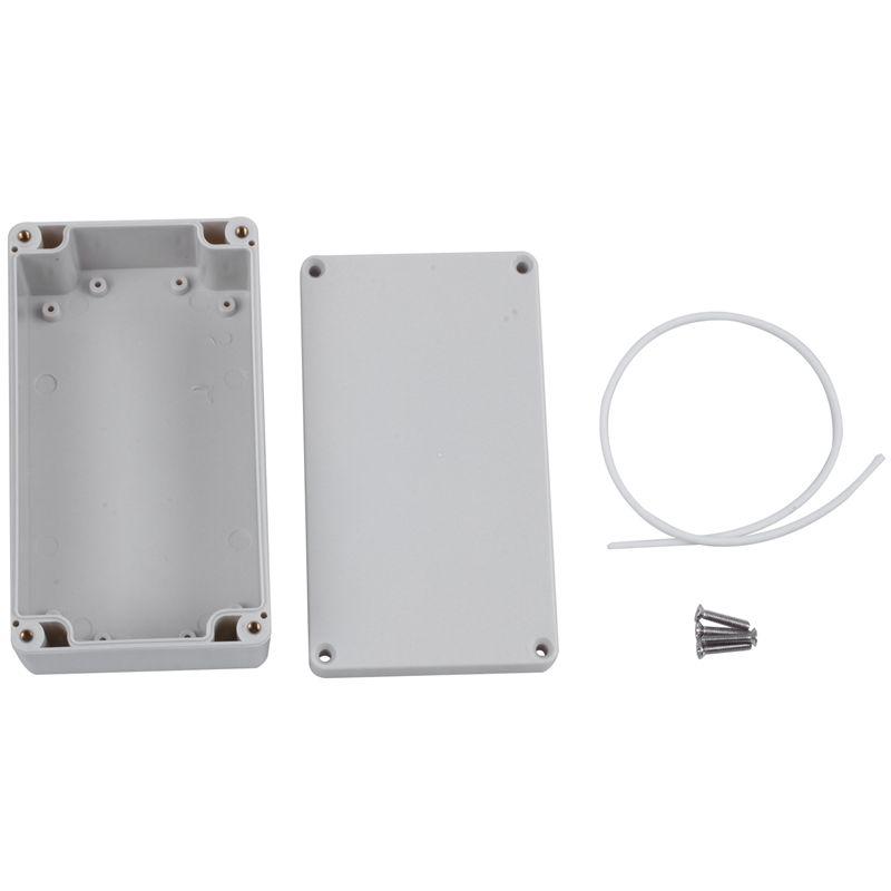Boitier-electronique-en-plastique-en-plastique-ABS-IP65-Boite-de-connexion-Q7I3 miniature 3