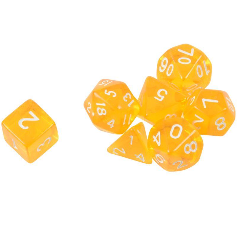 7-Des-D4-D6-D8-D10-D12-D20-MTG-Rassemblement-de-magie-D-K7D8 miniature 11