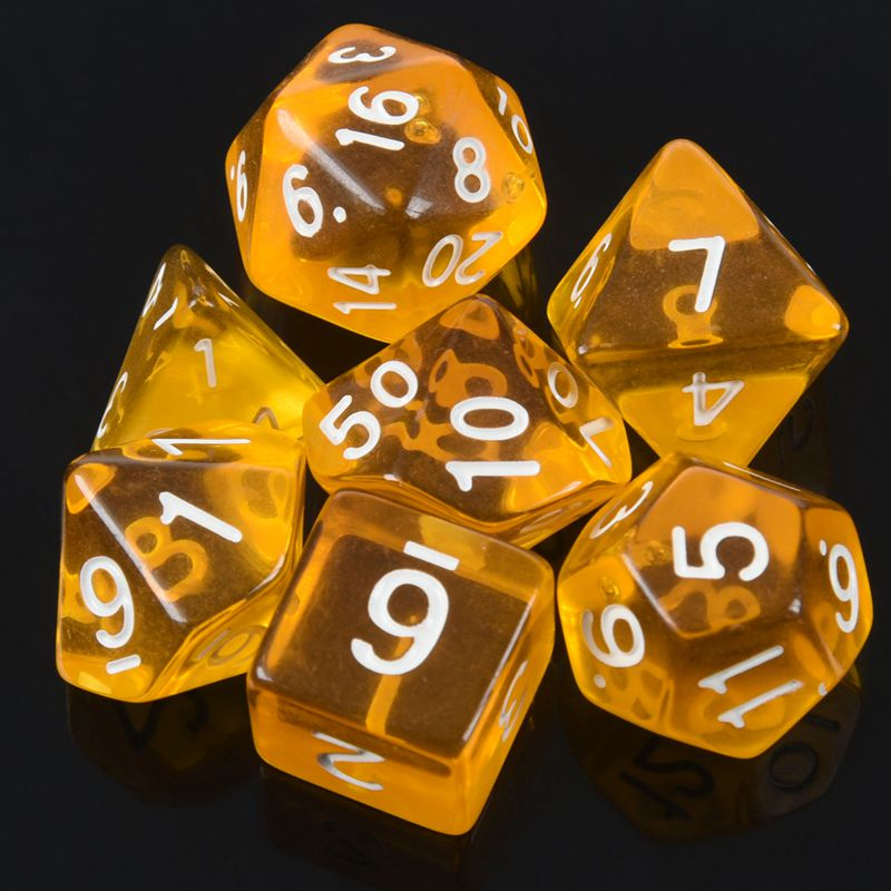 7-Des-D4-D6-D8-D10-D12-D20-MTG-Rassemblement-de-magie-D-K7D8 miniature 15