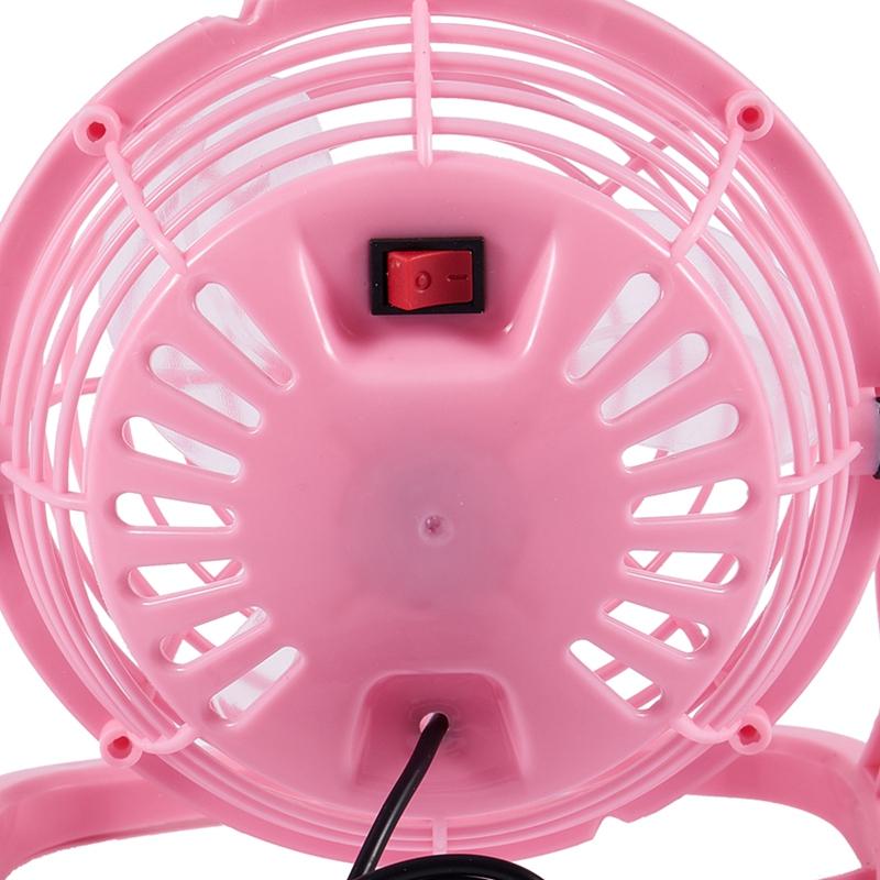 miniature 8 - Mini ventilateur USB portable bureau Ordinateur pc portable silencieux Coul R4B9