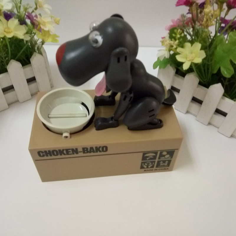 1X-Robot-de-Dibujos-Animados-ElectroNico-Perro-Caja-de-Dinero-Banco-de-Dine-W9X1 miniatura 7