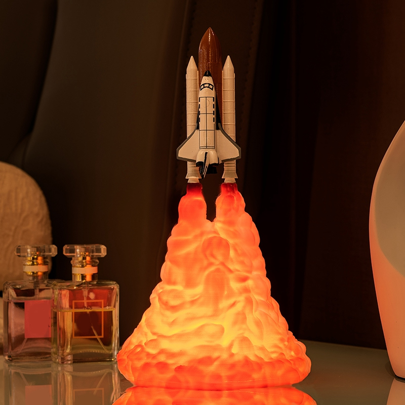 Space-Shuttle-Lamp-and-Moon-Lamps-in-Night-Light-By-3D-Print-for-Space-Lover-v2h thumbnail 4