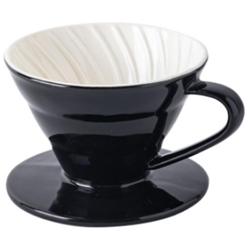 Colorida-Cafetera-Rosca-de-Tornillo-Dentro-de-CeraMica-Goteador-de-Cafe-Taz-B5V3 miniatura 13