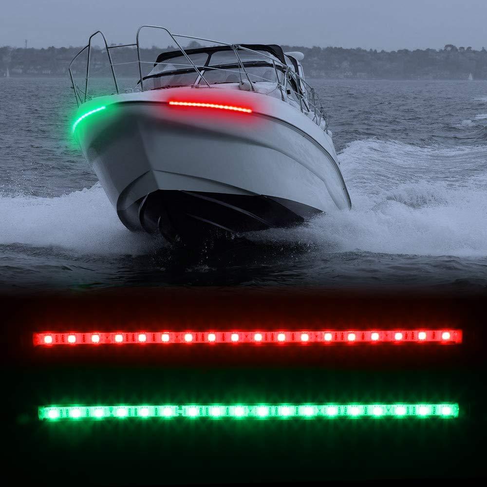 Yacht Marine Bateau Yacht Light LED Feu de navigation Ancré Plier vers le bas
