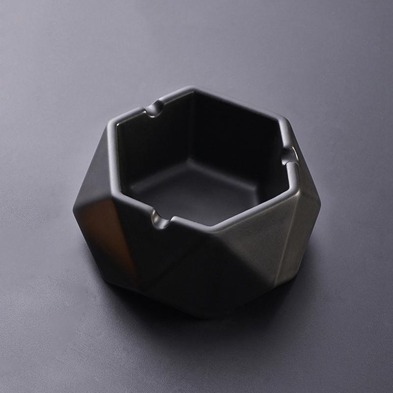 1X-Simple-Ceramic-Ashtray-Home-Living-Room-Office-Ashtray-N7P1 thumbnail 10