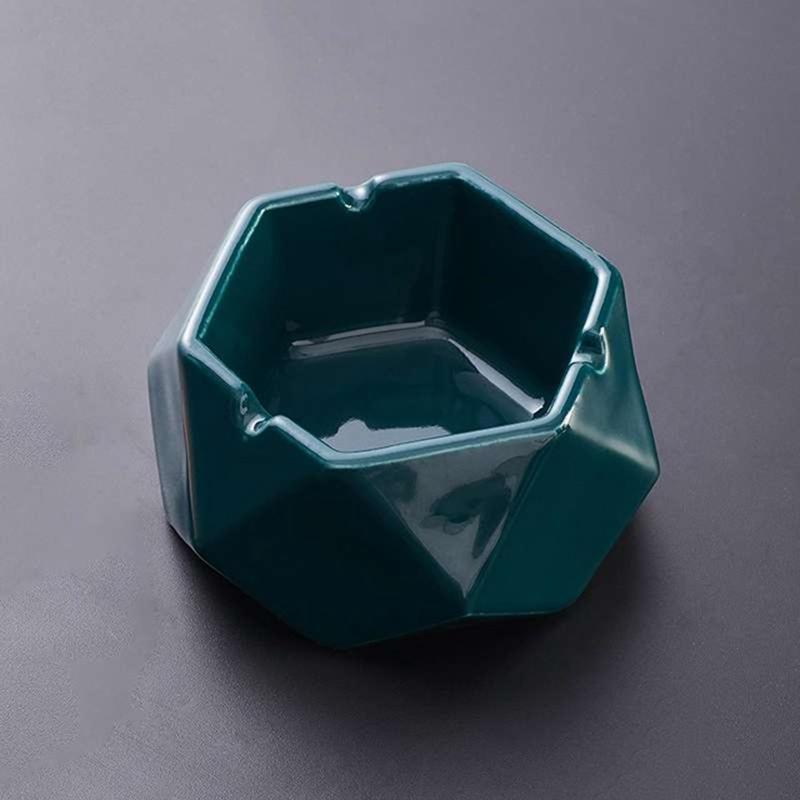 1X-Simple-Ceramic-Ashtray-Home-Living-Room-Office-Ashtray-N7P1 thumbnail 17