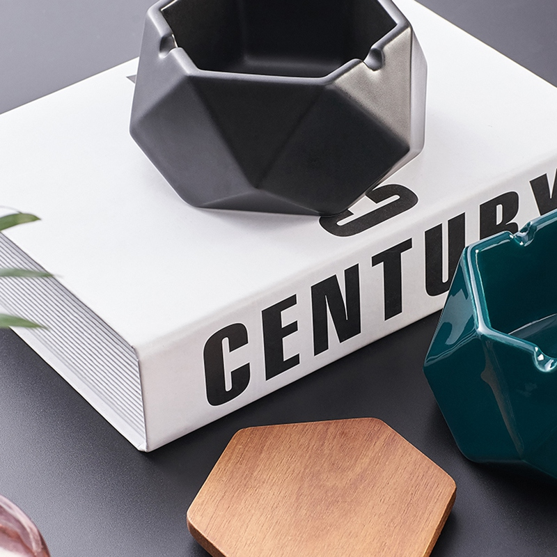 1X-Simple-Ceramic-Ashtray-Home-Living-Room-Office-Ashtray-N7P1 thumbnail 20