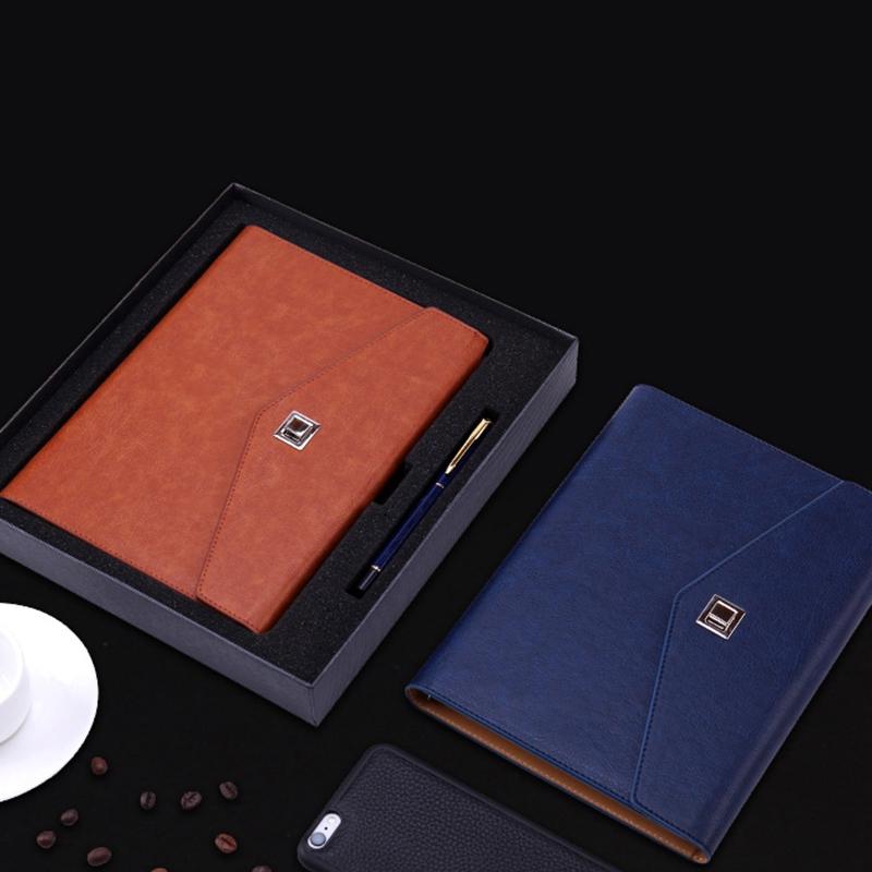 Cuaderno-Espiral-de-Cuero-Lindo-A5-PapeleriA-Carpeta-de-Persona-de-Oficina-Plani miniatura 22