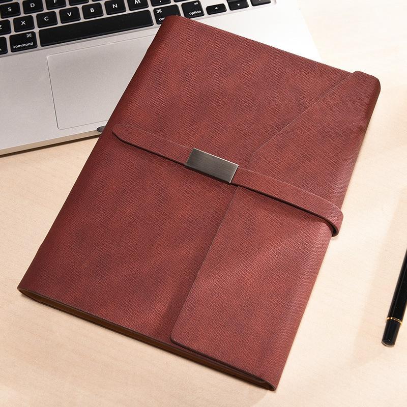 Oficina-de-Negocios-Cuadernos-Papeleria-Hoja-Suelta-Diario-Simple-de-Trabajo-Dia miniatura 8