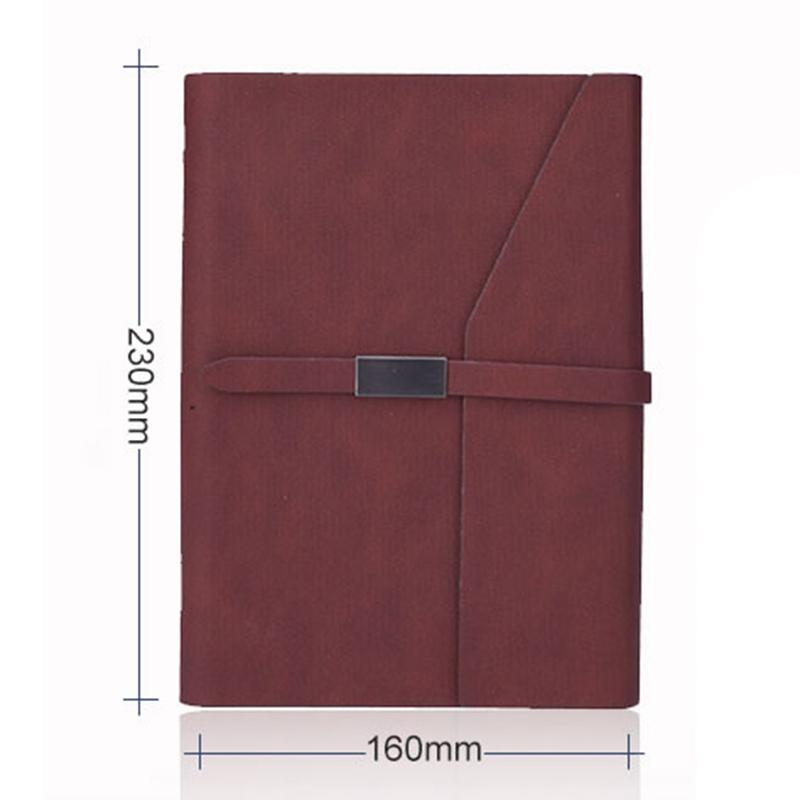 Oficina-de-Negocios-Cuadernos-Papeleria-Hoja-Suelta-Diario-Simple-de-Trabajo-Dia miniatura 11