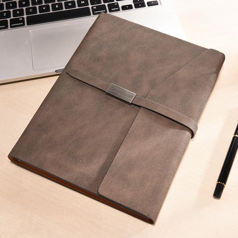 Oficina-de-Negocios-Cuadernos-Papeleria-Hoja-Suelta-Diario-Simple-de-Trabajo-Dia miniatura 14