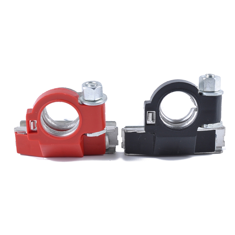 2x Top-Post Battery Cable Terminal Wire Automotive Clamp Terminals Connectors