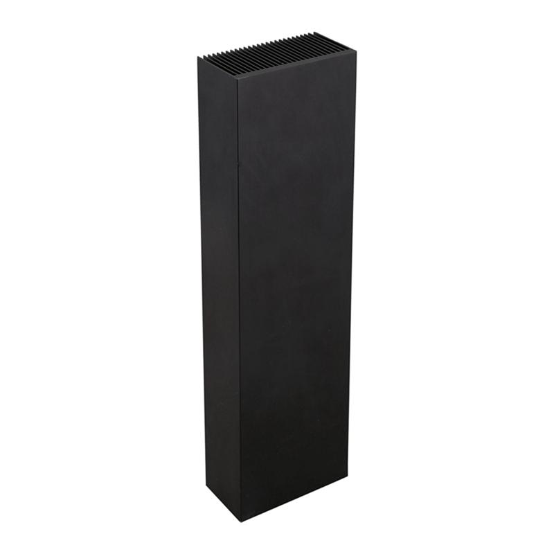 Black-Aluminum-Radiator-Dense-27-Tooth-Heat-Sink-for-Power-Amplifier-Heater-C4N1 thumbnail 5