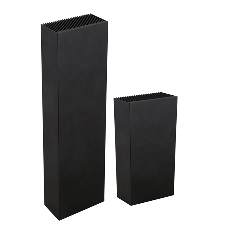 Black-Aluminum-Radiator-Dense-27-Tooth-Heat-Sink-for-Power-Amplifier-Heater-C4N1 thumbnail 10