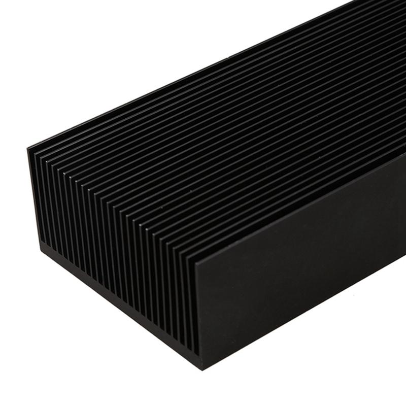 5X-Black-Aluminum-Radiator-Dense-27-Tooth-Heat-Sink-for-Power-Amplifier-He-G4L2 thumbnail 8