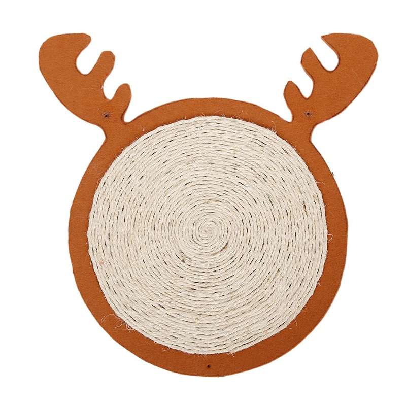 1X-Merry-Christmas-Cute-Cat-Pet-Scratching-Board-Toy-Cat-Litter-Mat-for-KitR6N2 thumbnail 13