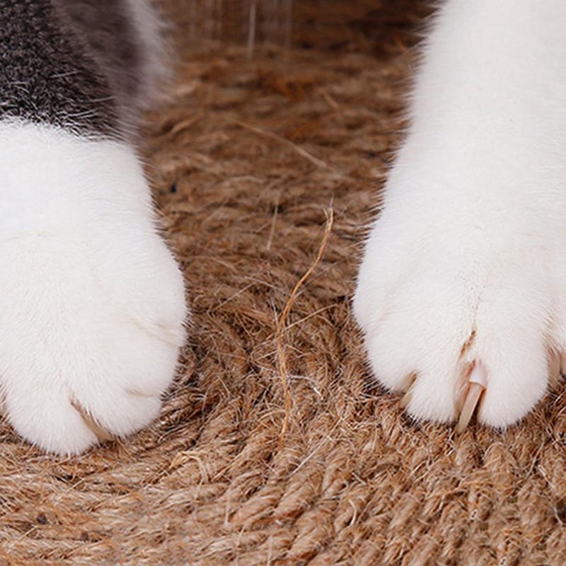 thumbnail 15 - Merry Christmas Cute Cat Pet Scratching Board Toy Cat Litter Mat for Kitten A2J2