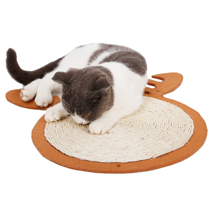 1X-Merry-Christmas-Cute-Cat-Pet-Scratching-Board-Toy-Cat-Litter-Mat-for-KitR6N2 thumbnail 12