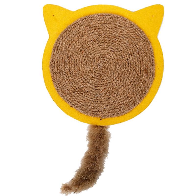 thumbnail 23 - Merry-Christmas-Cute-Cat-Pet-Scratching-Board-Toy-Cat-Litter-Mat-for-Kitten-Z5L4