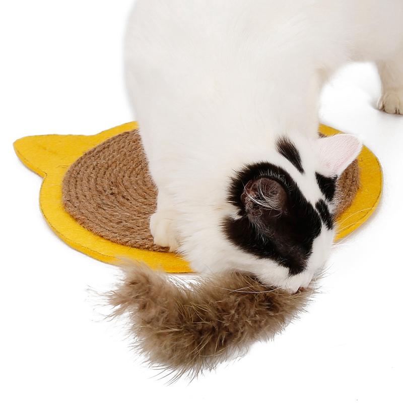thumbnail 25 - Merry-Christmas-Cute-Cat-Pet-Scratching-Board-Toy-Cat-Litter-Mat-for-Kitten-Z5L4