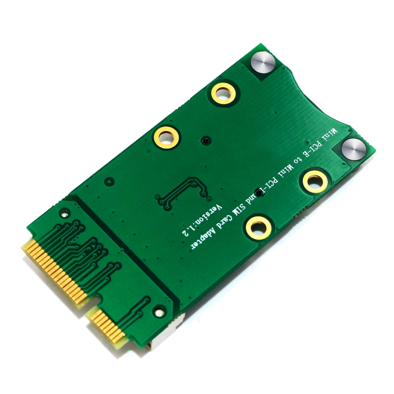 New-Mini-PCI-Express-Adapter-for-3G-4G-Module-with-USIM-Slot-MINI-PCI-E-To-T6H5 thumbnail 4