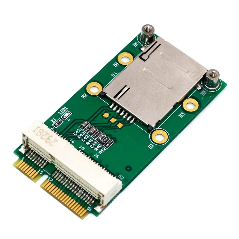 New-Mini-PCI-Express-Adapter-for-3G-4G-Module-with-USIM-Slot-MINI-PCI-E-To-T6H5