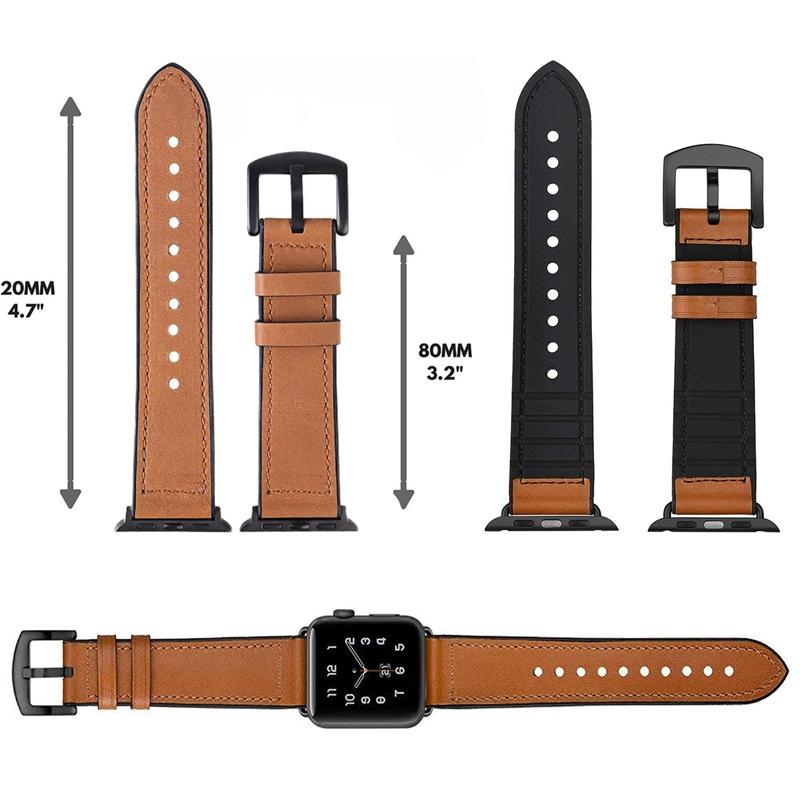Sangle Bracelet en cuir Couleur Fuchsine Remplacement pour Montre Mode 18mm P4G