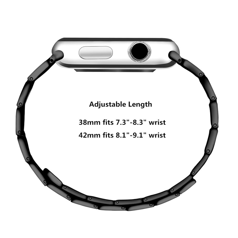 Strap-for-Apple-Watch-Band-Apple-Watch-4-3-2-1-Iwatch-Band-42Mm-44Mm-Men-Br-P9H7 thumbnail 5