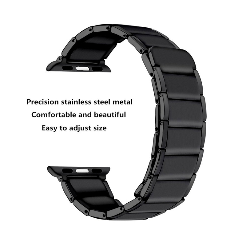 Strap-for-Apple-Watch-Band-Apple-Watch-4-3-2-1-Iwatch-Band-42Mm-44Mm-Men-Br-P9H7 thumbnail 6