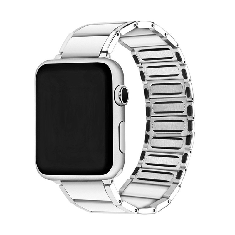 Strap-for-Apple-Watch-Band-Apple-Watch-4-3-2-1-Iwatch-Band-42Mm-44Mm-Men-Br-P9H7 thumbnail 12
