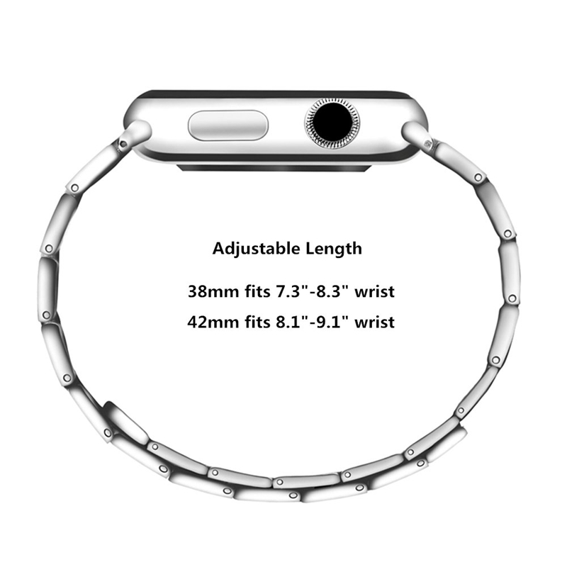 Strap-for-Apple-Watch-Band-Apple-Watch-4-3-2-1-Iwatch-Band-42Mm-44Mm-Men-Br-P9H7 thumbnail 15