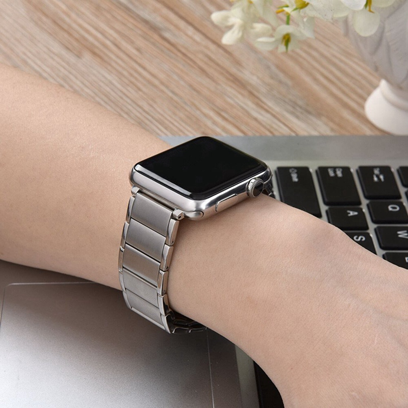 Strap-for-Apple-Watch-Band-Apple-Watch-4-3-2-1-Iwatch-Band-42Mm-44Mm-Men-Br-P9H7 thumbnail 16